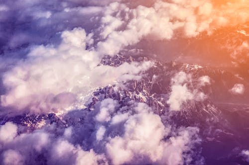 Free stock photo of aereal, cloudscape, cold, dolomites