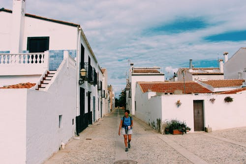 Free stock photo of espagne, girl, sea, street
