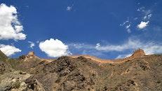landscape, clouds, desert