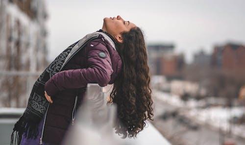 감기, 감정, 겨울, 긴 머리의 무료 스톡 사진