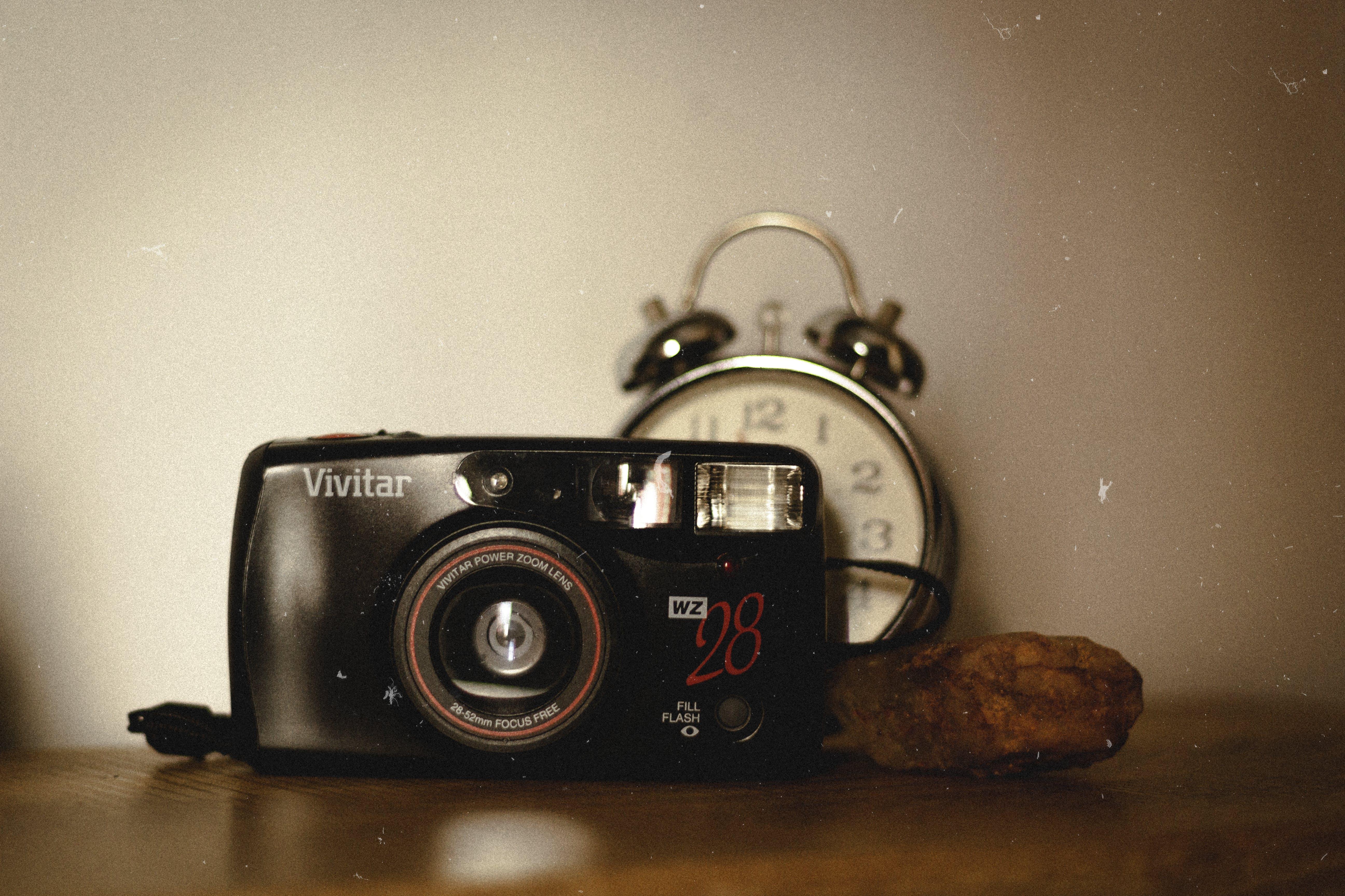 Analog, bağbozumu, eski model kamera, eskiye dönüş içeren Ücretsiz stok fotoğraf