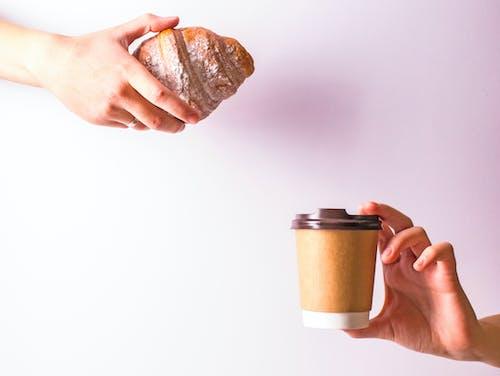 Základová fotografie zdarma na téma chleba, croissant, cukr, horko