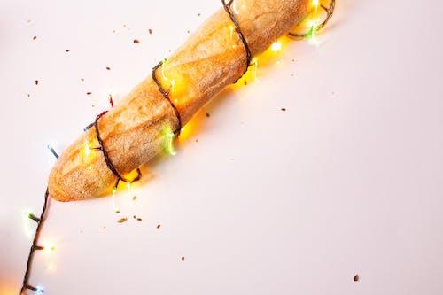 Gratis lagerfoto af bageri, brød, delikat, julelys