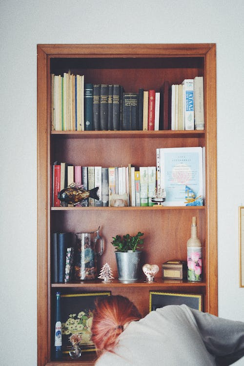 books, cleaning, decor