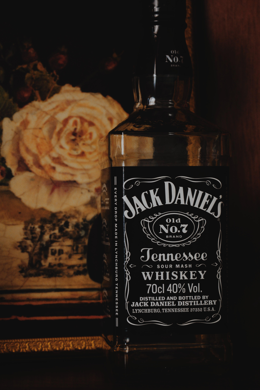 Free stock photo of alcohol, alcohol bottles, alcoholic beverages, Jack Daniels