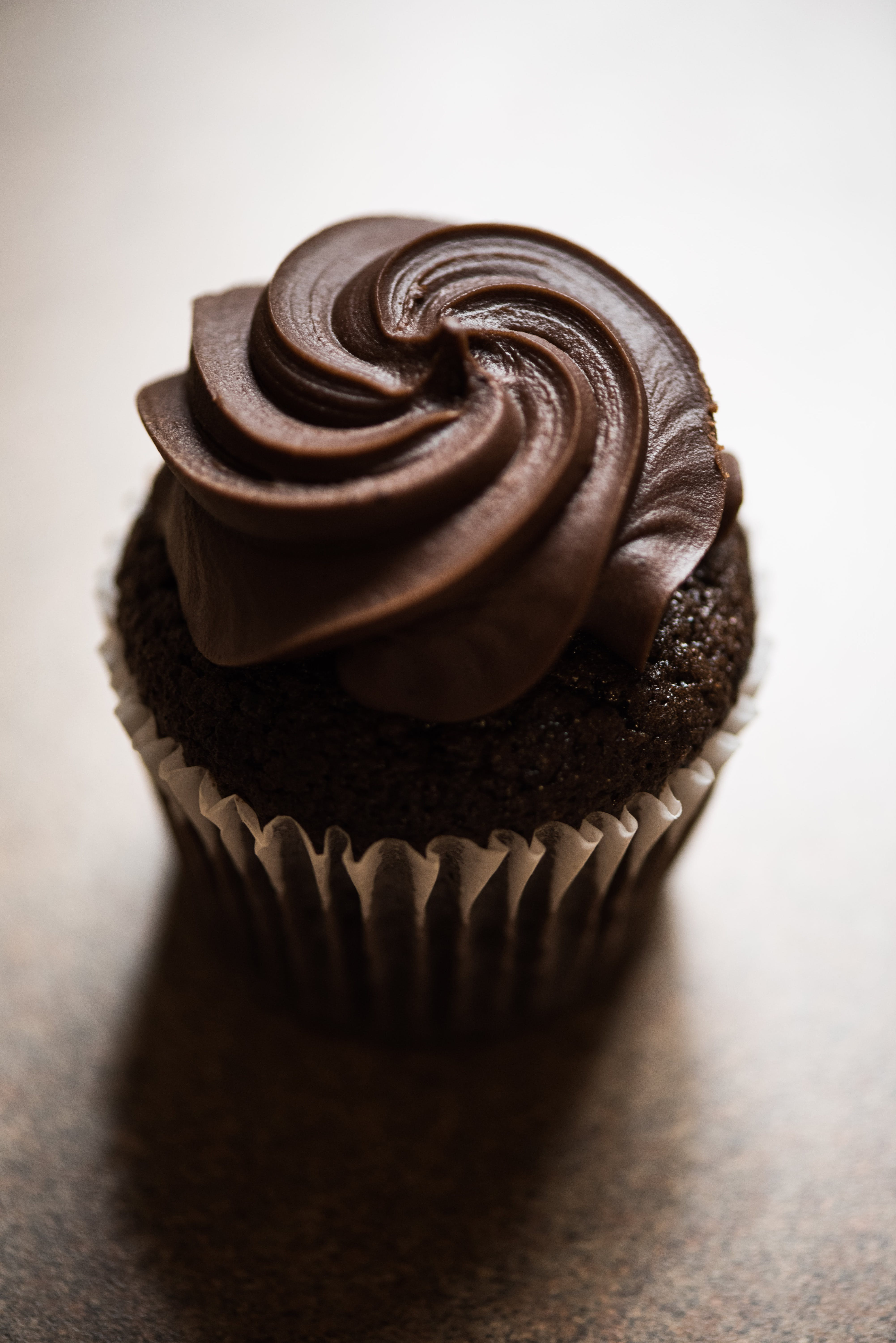 Close-up Photo Of Chocolate Cupcake