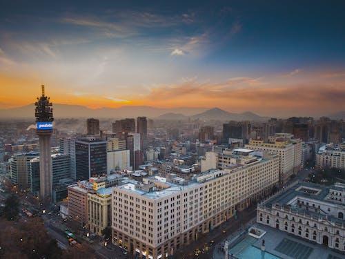 Ingyenes stockfotó belváros, építészet, épületek, hajnal témában