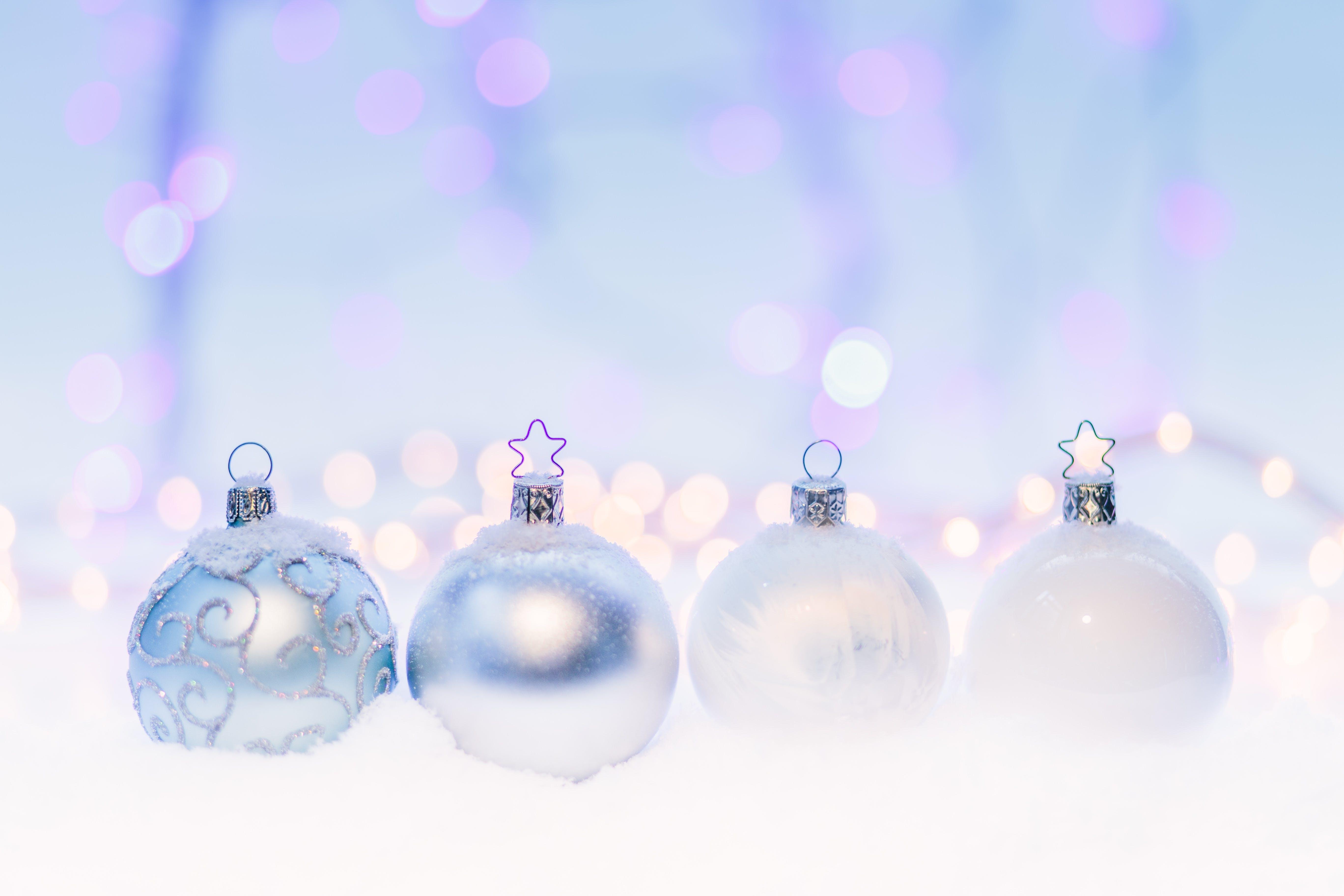 Kostenloses Stock Foto zu weihnachten, weihnachtsdekorationen, weihnachtskugeln, winter