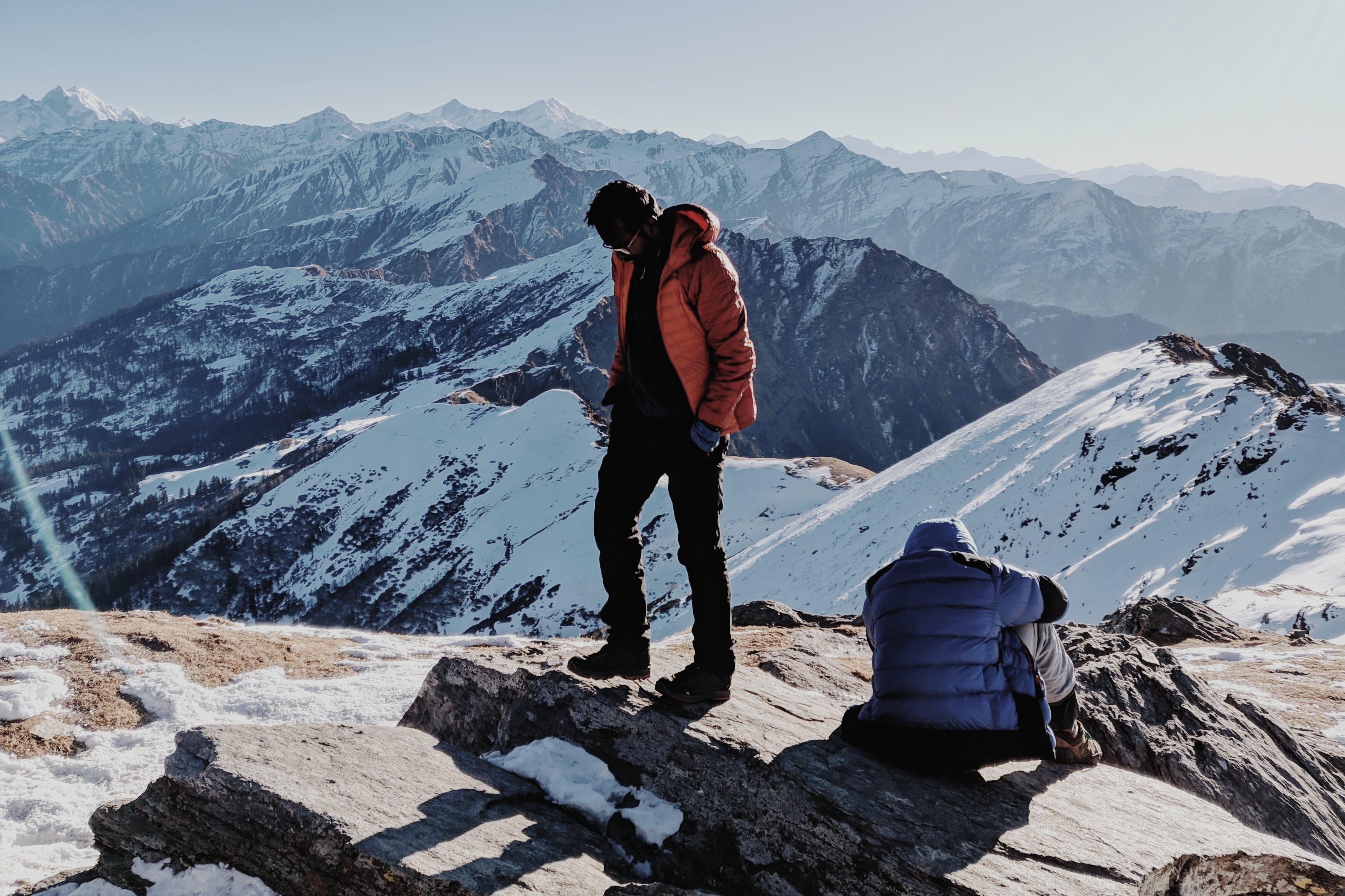 Kostenloses Stock Foto zu abenteuer, berg, bergspitze, gebirge