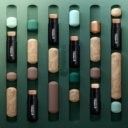 Gratis lagerfoto af børste, farve, fundament, glamour