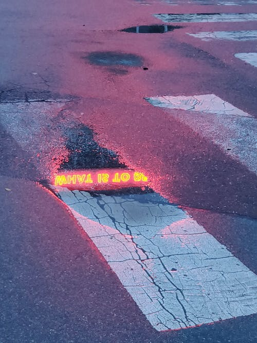 Безкоштовне стокове фото на тему «асфальт, дорога, калюжа»
