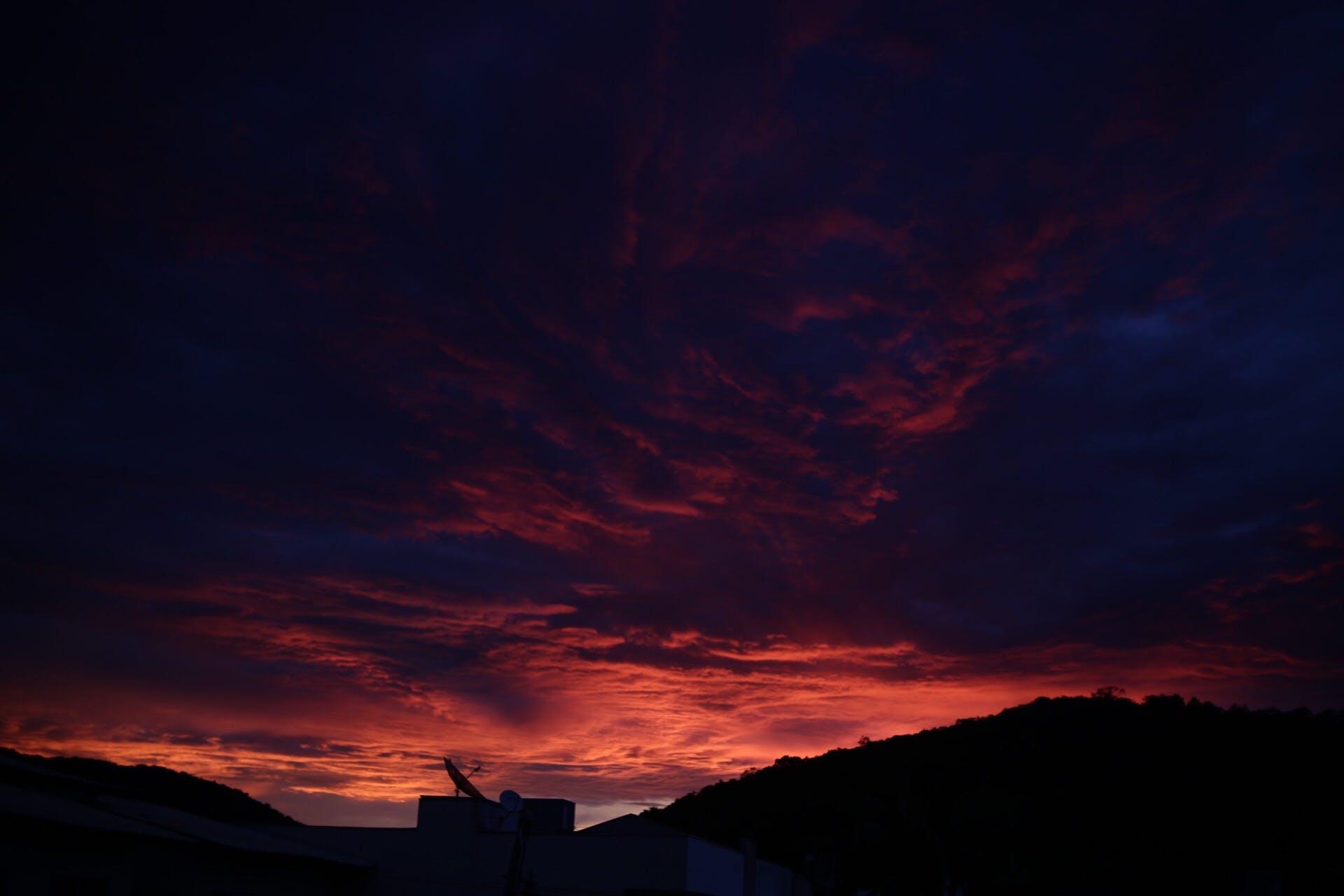 Free stock photo of céu, cloud, Vermelho