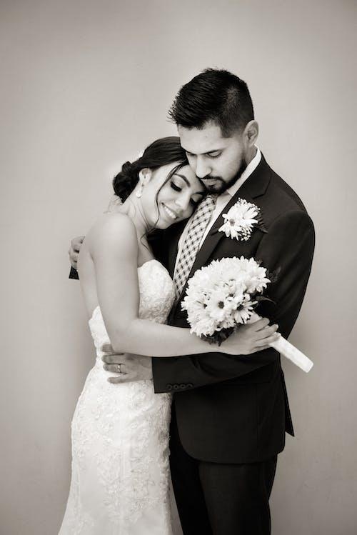 Бесплатное стоковое фото с близость, брак, вместе, жених