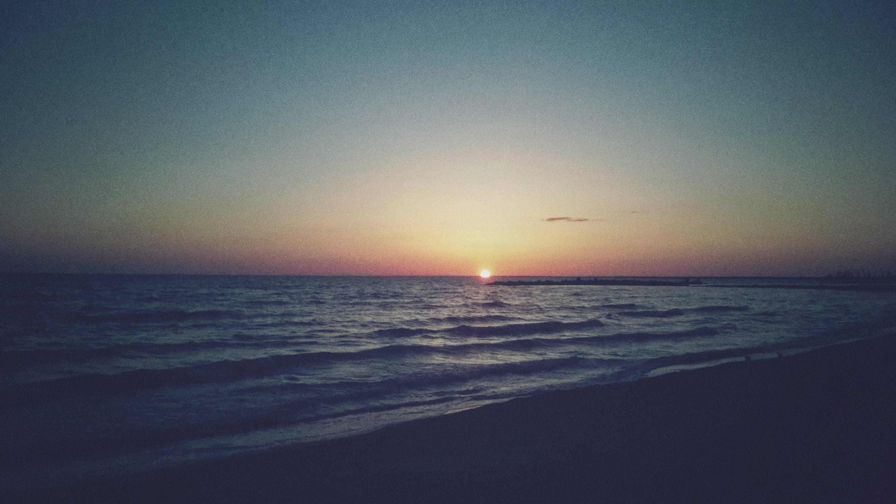 Free stock photo of atmospheric evening, sea beach, sunset over the sea