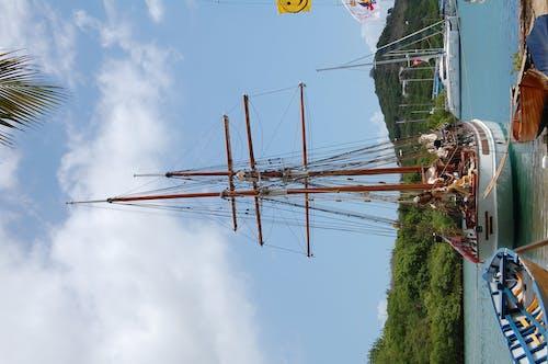 Free stock photo of ANTIGUA, boats, dockyard, sailing