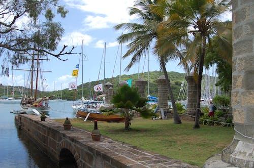 Free stock photo of ANTIGUA, boats, caribbean, islands