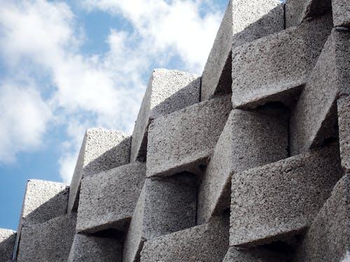 Základová fotografie zdarma na téma architektura, beton, bílá, blokovat