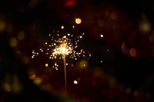 Бесплатное стоковое фото с огонь, отпуск, рождество, с новым годом