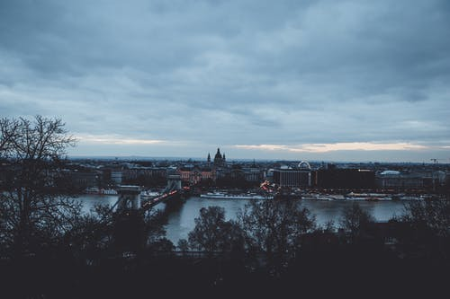 Ingyenes stockfotó alkonyat, belváros, Budapest, ég témában