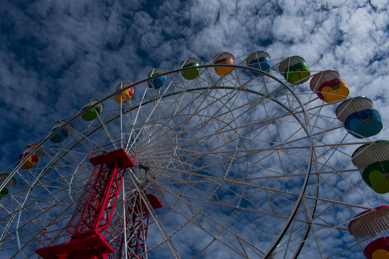 Free stock photo of #ferriswheel, #lunapark, #sydneylunapark