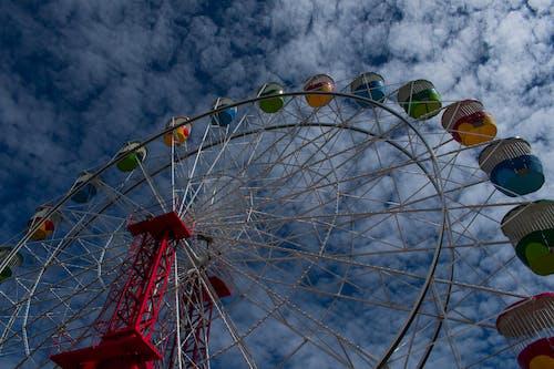Free stock photo of ferriswheel, lunapark