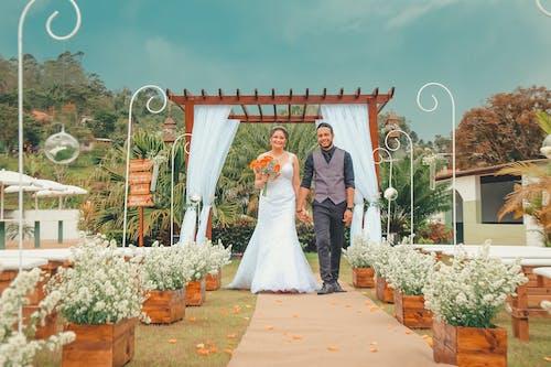 Imagine de stoc gratuită din aranjament floral, căsătorie, celebrare, ceremonie