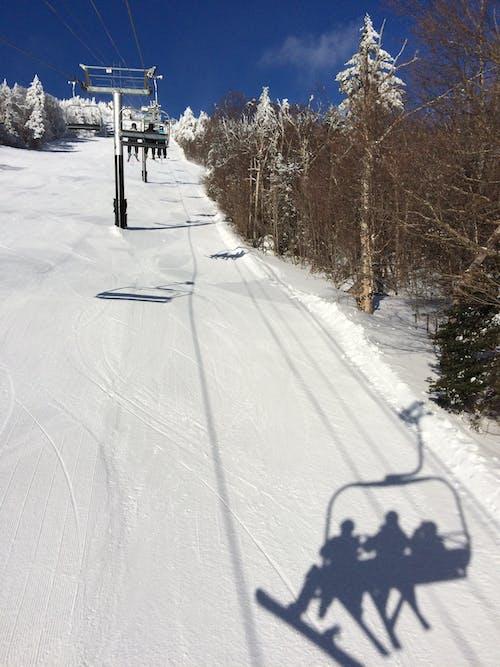 Foto profissional grátis de elevador de esqui, esqui