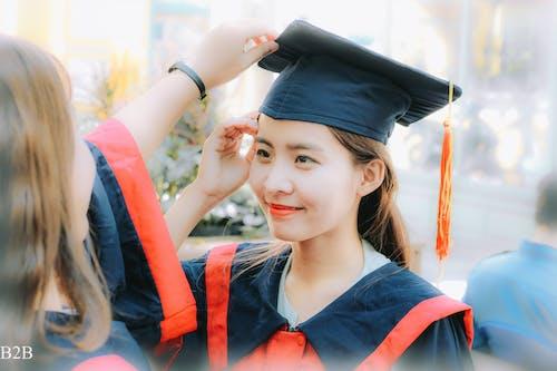 귀여운 소녀, 사랑스러운, 아시아 여성, 점층법의 무료 스톡 사진
