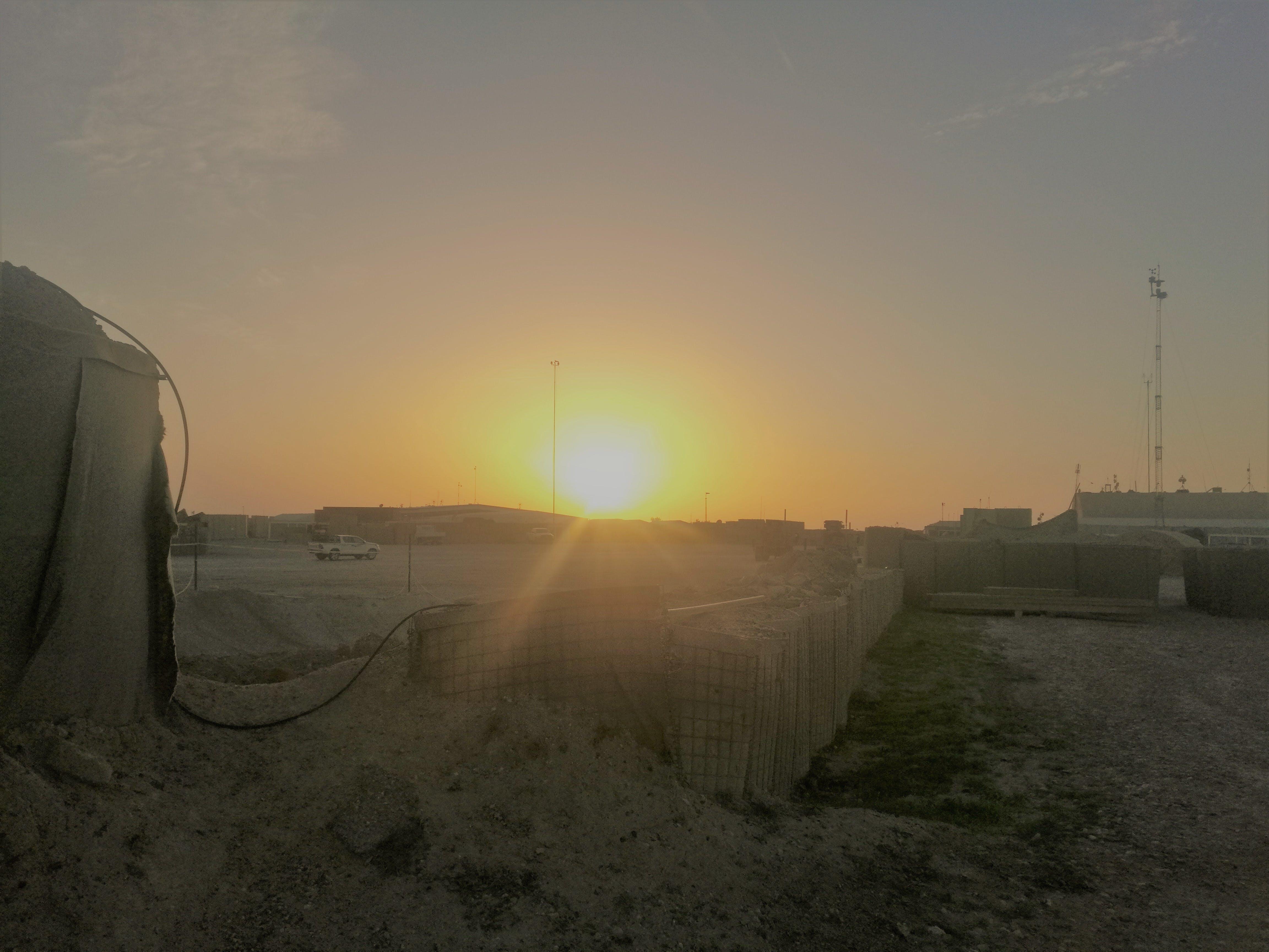 Free stock photo of desert, dusk, iraq, marines