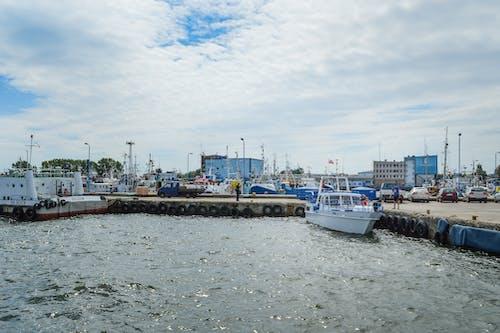 Free stock photo of Baltic Sea, boats, harbor