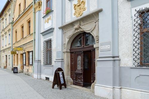 Free stock photo of buildings, czech republic, door