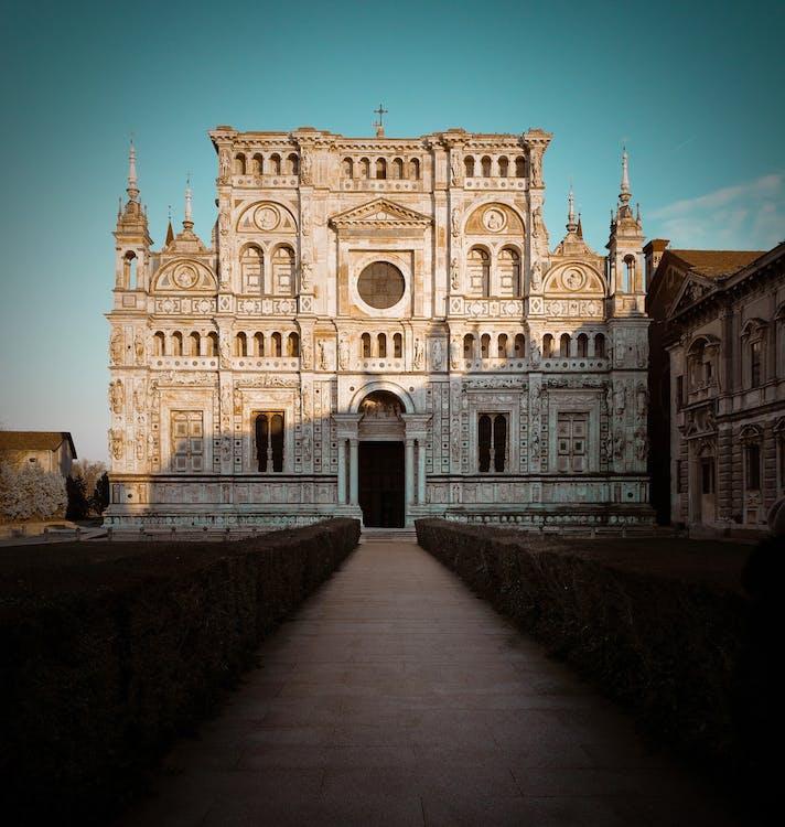 arkitektur, bygning, katedral