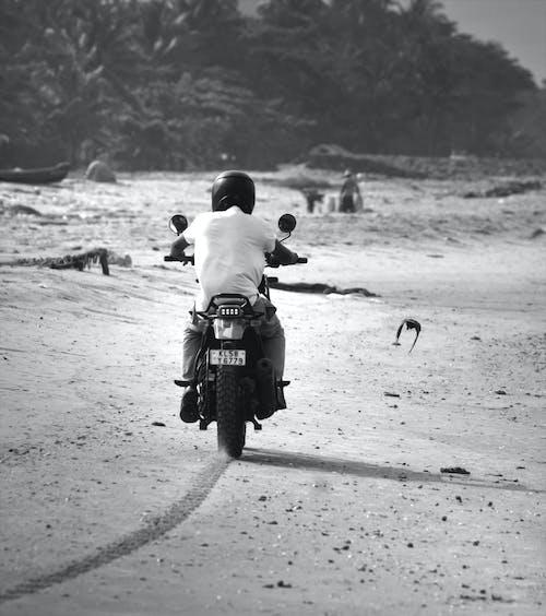 Foto d'estoc gratuïta de Bon dia, cascos, ciclista, Índia