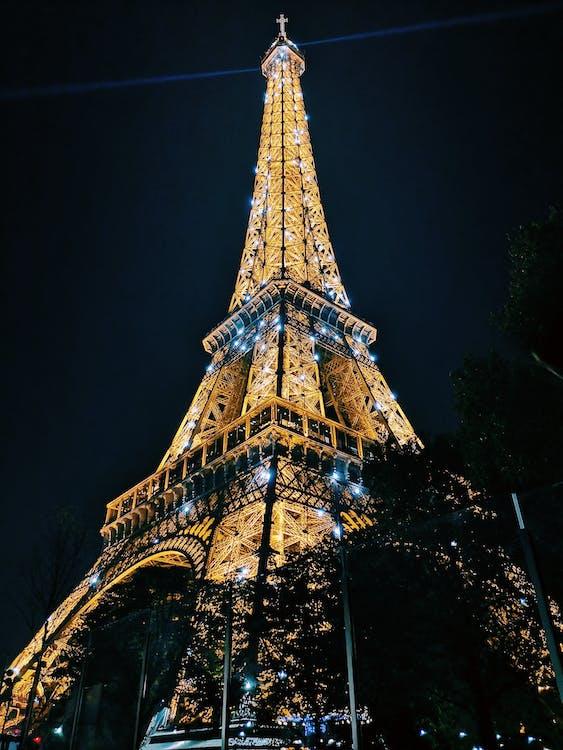 architectuur, attractie, avond