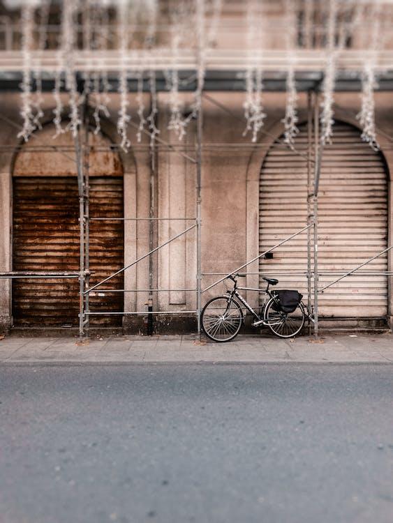 Bicicleta Negra Y Gris