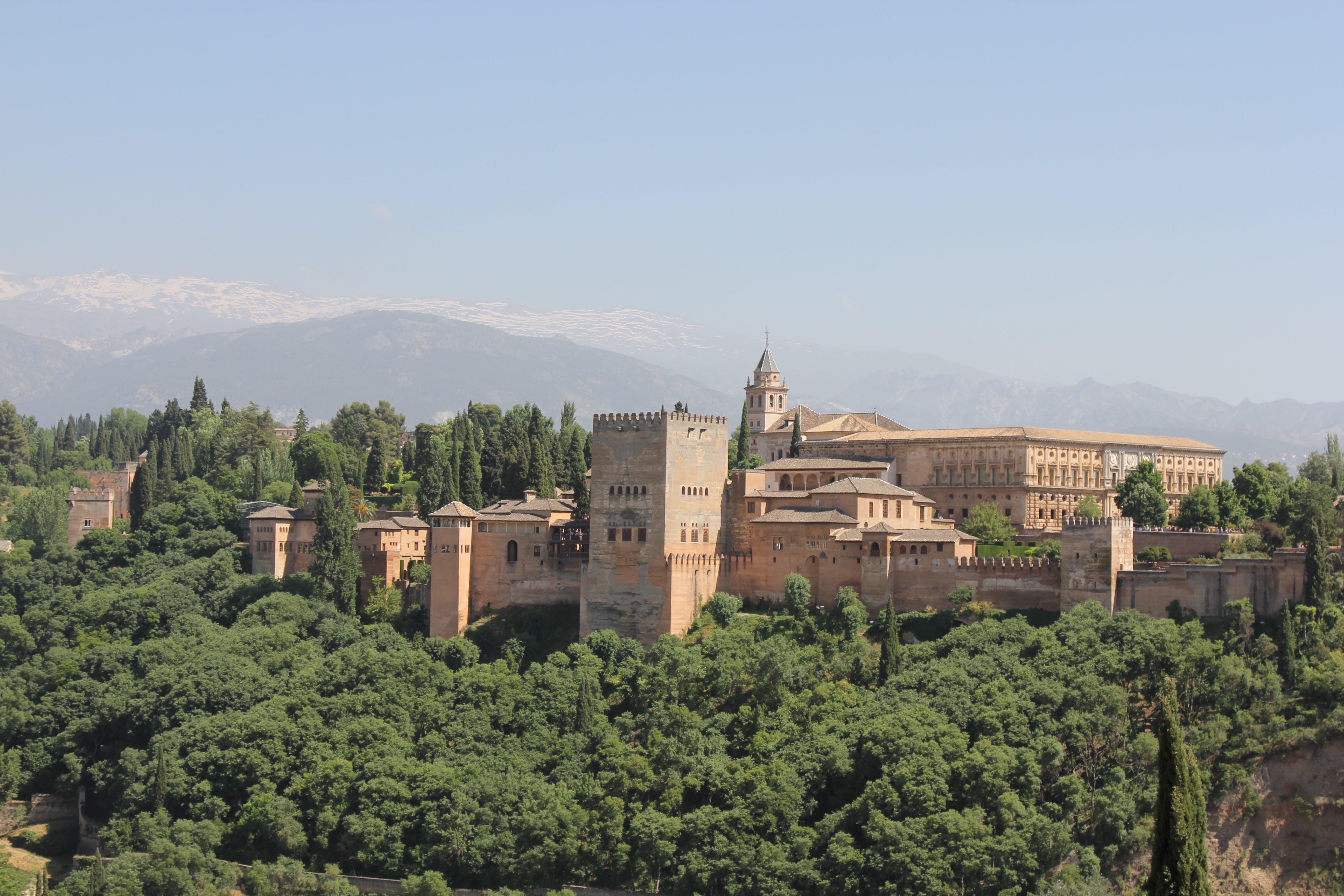 Free stock photo of alhambra, granada, nature, spain
