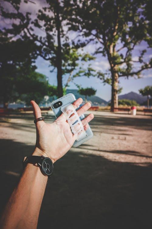Základová fotografie zdarma na téma akce, chytrý telefon, denní světlo, léto