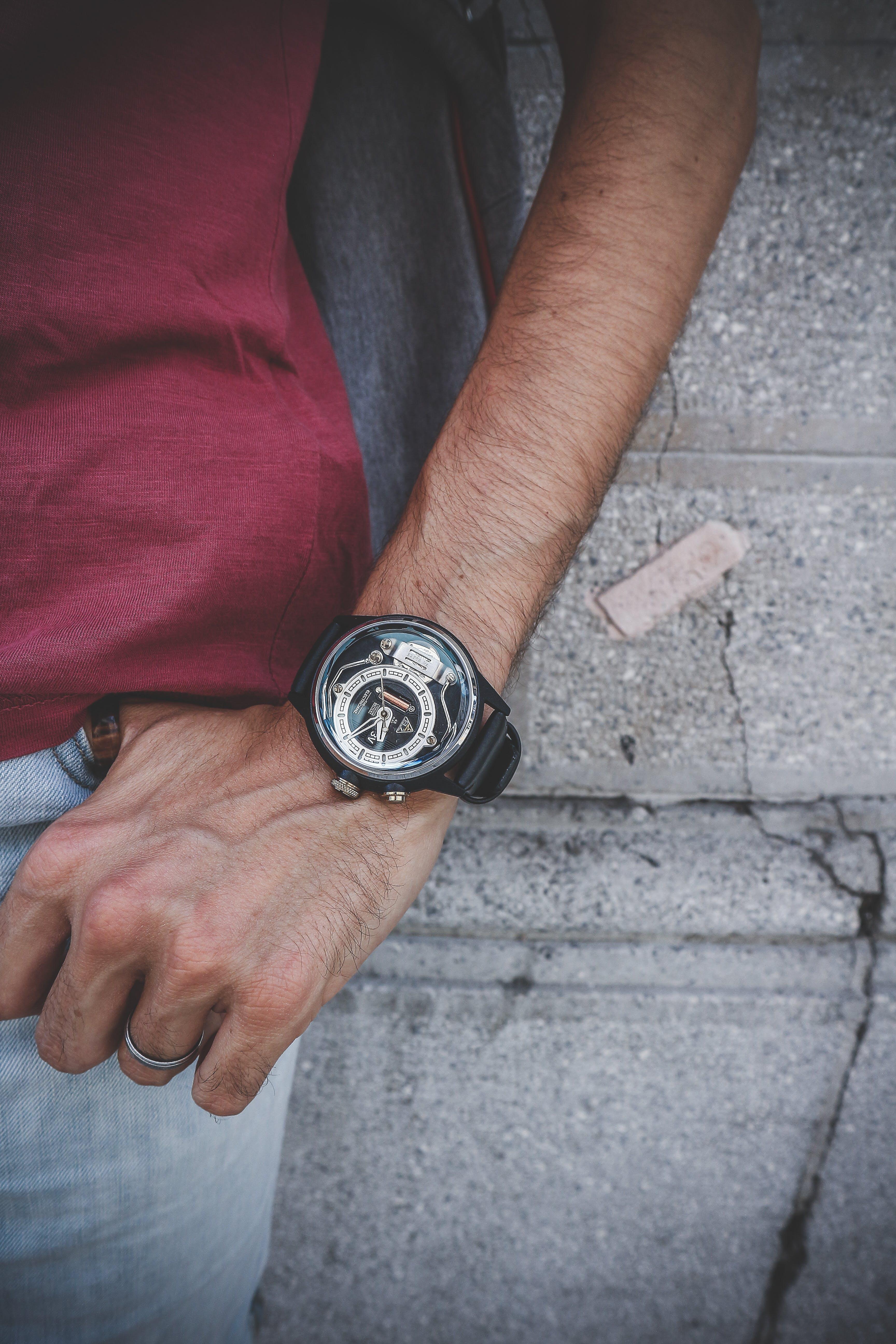 Foto stok gratis alat musik, arloji, detik, jalan