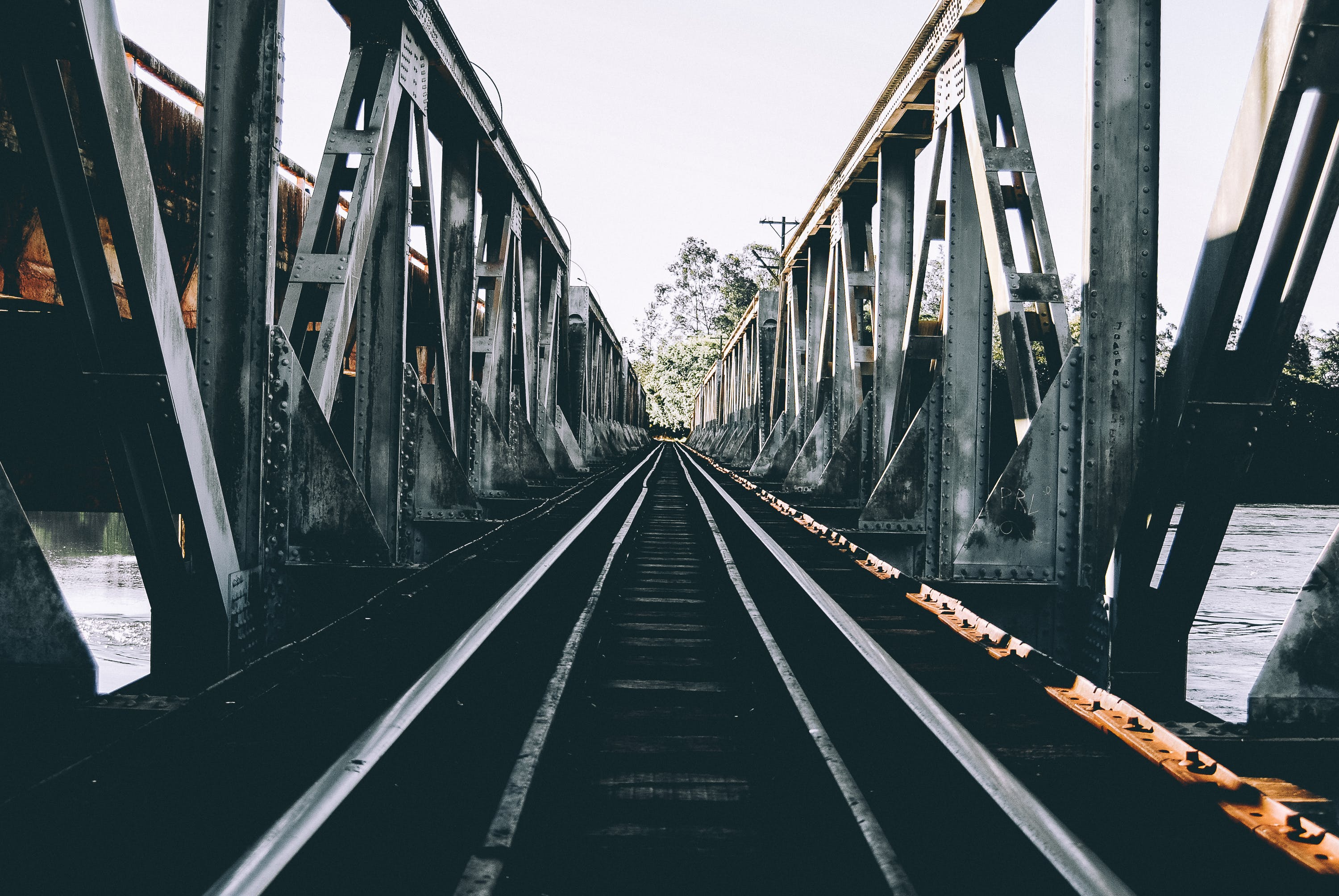 Empty Gray Bridge