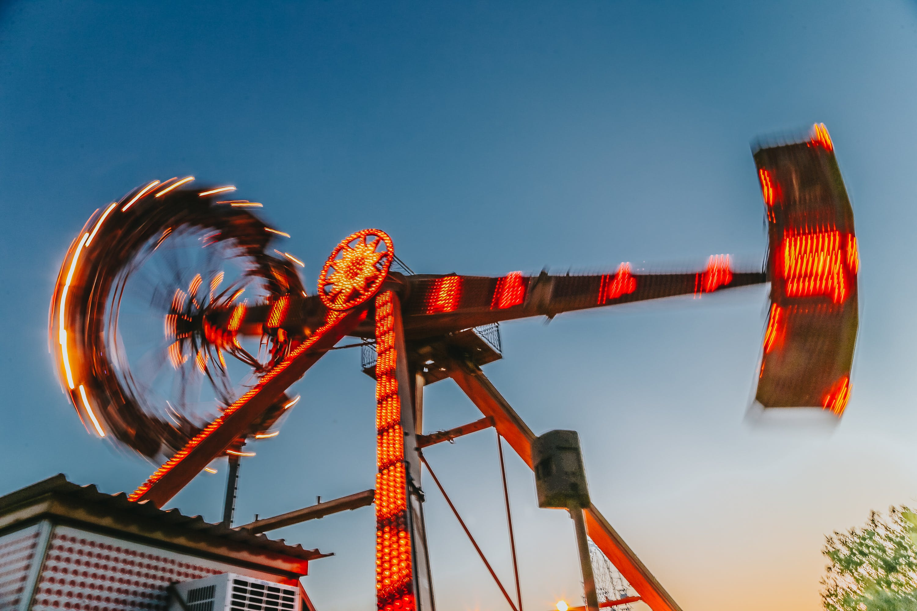 Low Angle Photography Of Amusement Ride