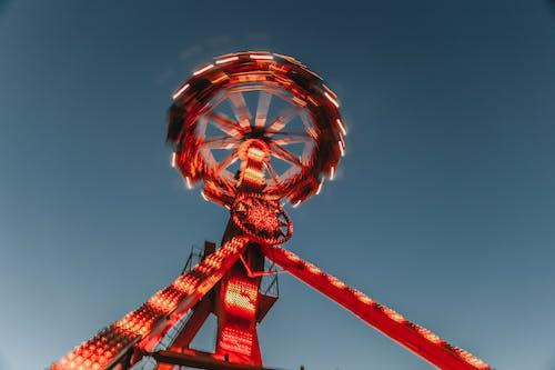 놀이기구, 높은, 높이, 대관람차의 무료 스톡 사진