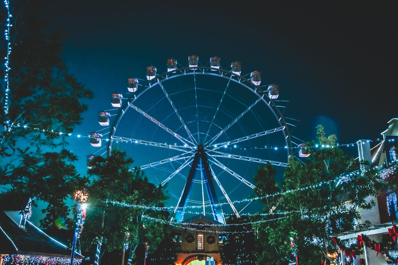 People on Ferris Wheel