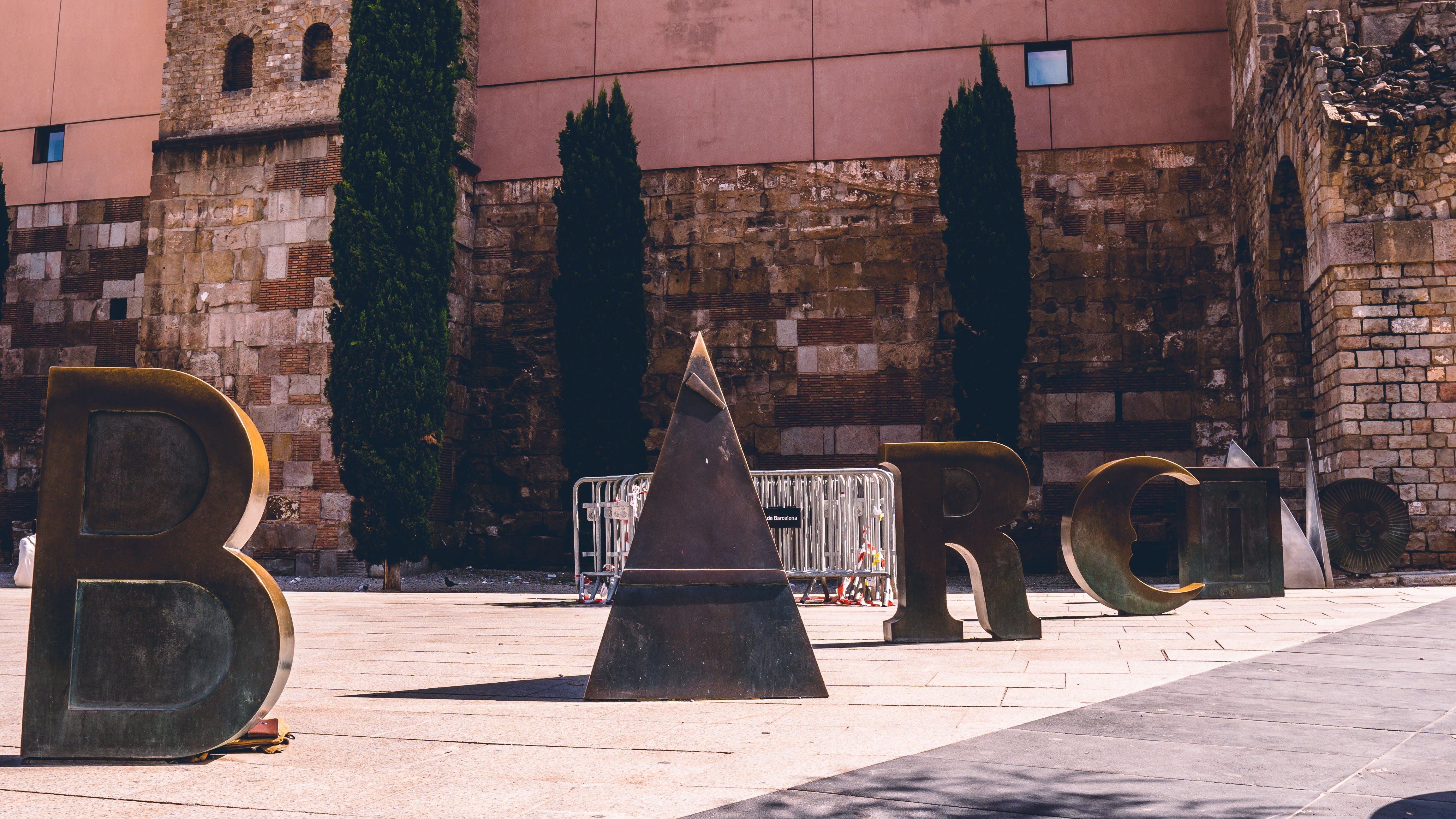 巴賽隆納, 標誌 的 免費圖庫相片
