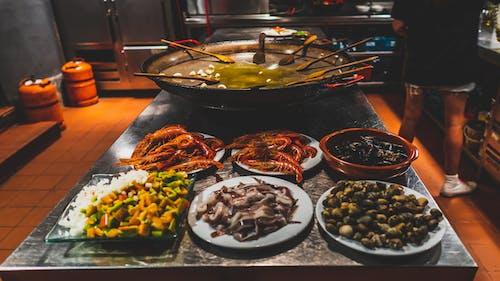 바르셀로나, 빠에야, 스페인, 요리 교실의 무료 스톡 사진