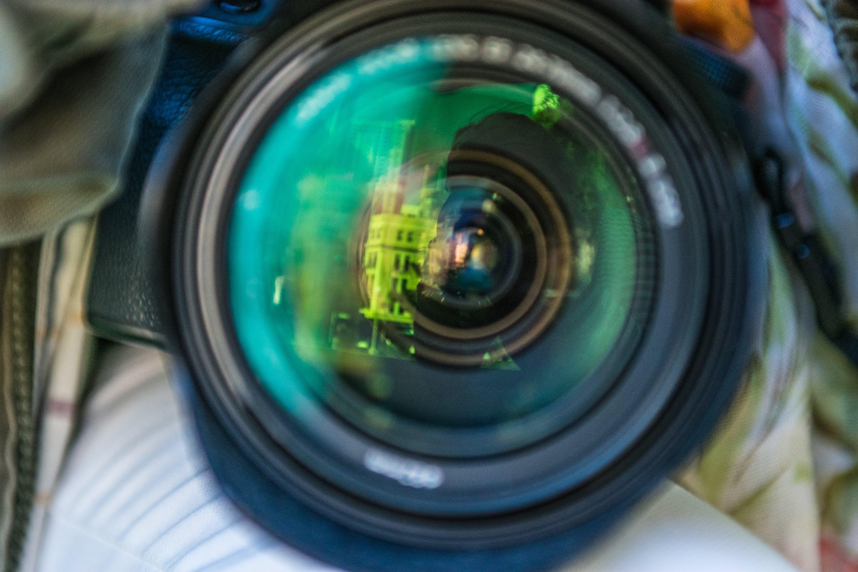 Free stock photo of #camera, #Lens, #reflection