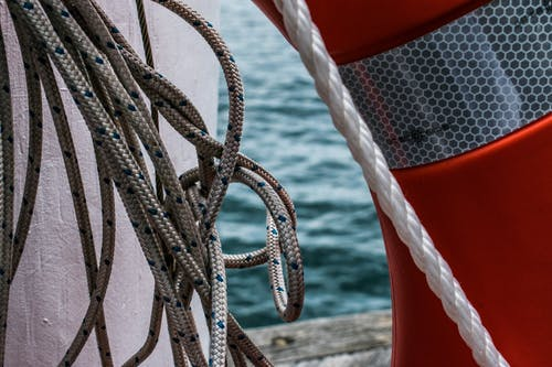 Free stock photo of rope, wharf