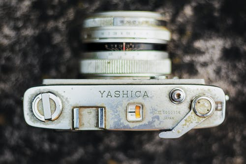Top View Photo of Camera