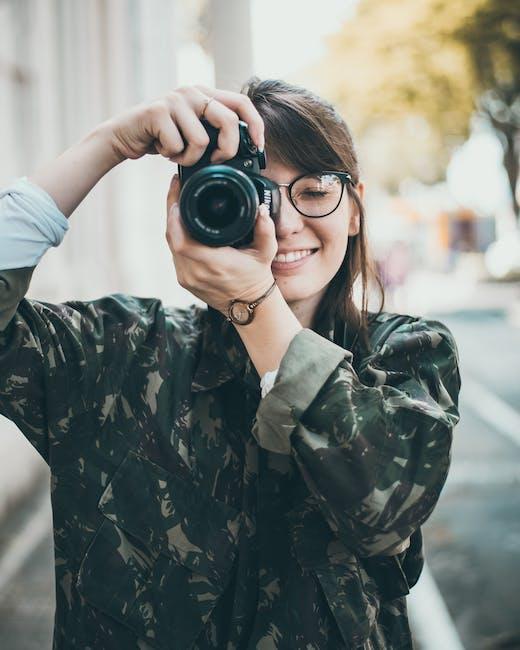 Woman Taking Photo Using Dslr Camera Free Stock Photo