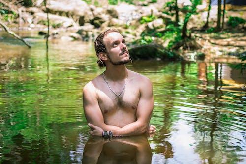 Kostenloses Stock Foto zu baden, mann, person