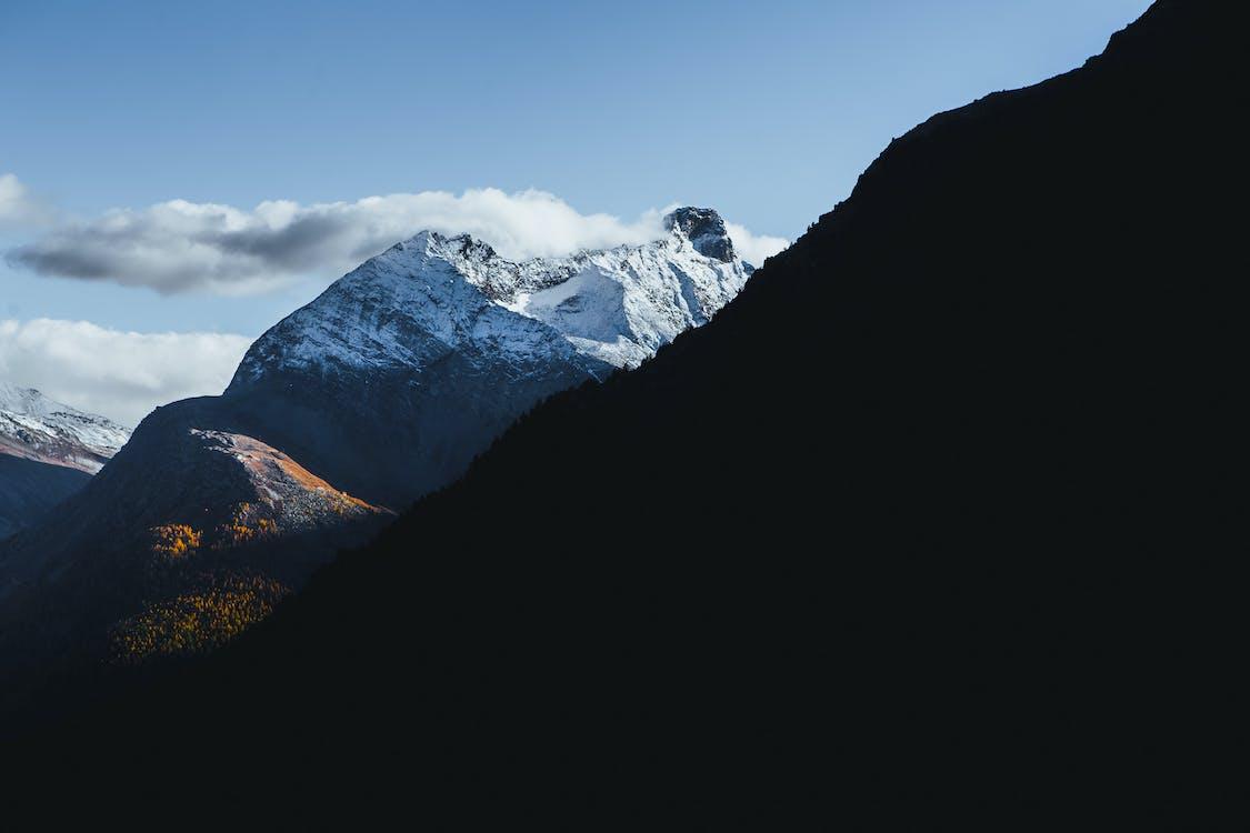 alam, dingin, gunung